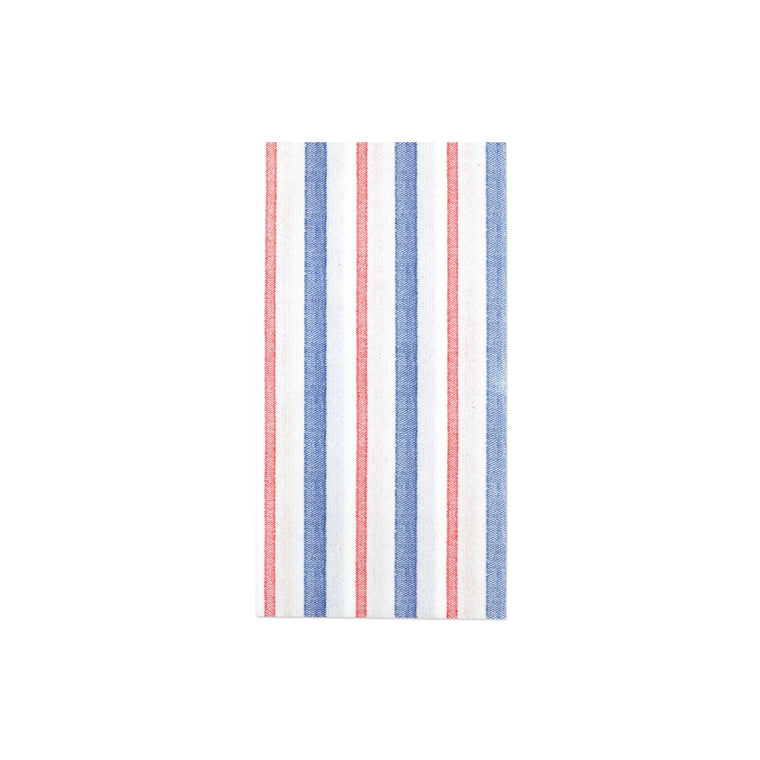Papersoft Americana Stripe Guest Towels
