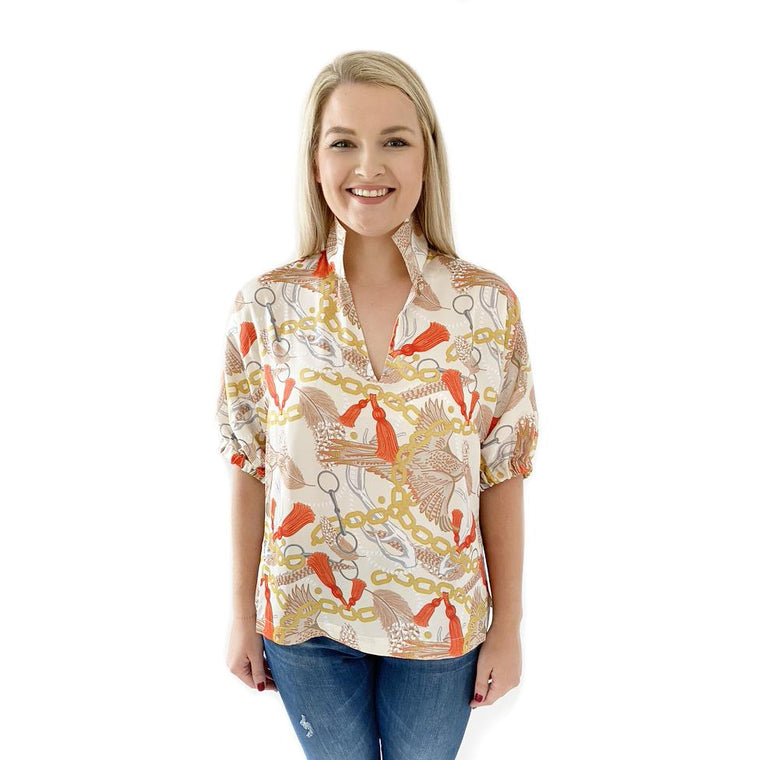 Emily McCarthy Poppy Top Sporting Luxe