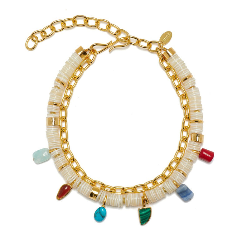 Lizzie Fortunato Form and Color Necklace