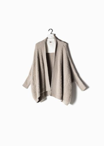 Eyelash Cape Cardigan
