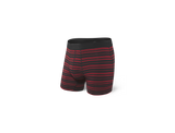 SAXX Platinum Boxer Brief Black/Red Tidal Stripe