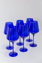 Estelle Stemmed Wine Glasses Set Of Six
