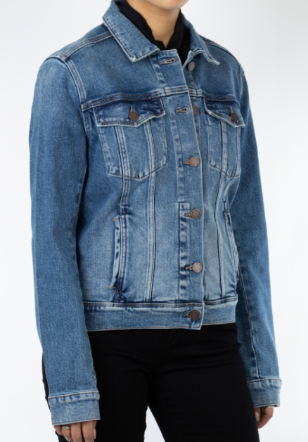 Articles Of Society Perfect Wash Denim Jacket