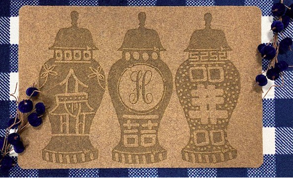 Custom Door Mat-Ginger Jars