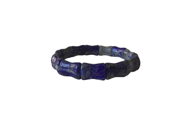 Hazen & Co. Bamboo Bangle Amethyst