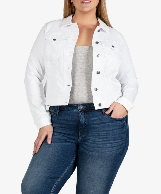 Helena Jacket Optic White