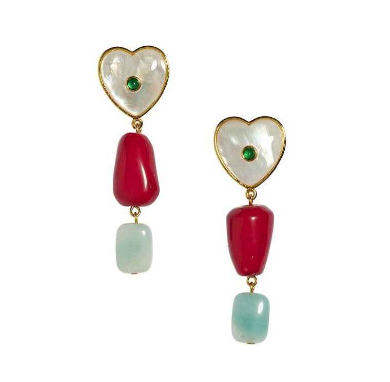 Lizzie Fortunato I'm In Love Earrings