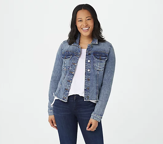 No Waist Denim Jacket