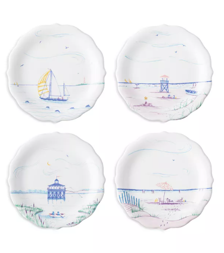 Juliska Party Plate Seaside Set