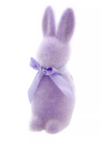 "Flocked Button Nose Bunny 16"" (multiple variants)"