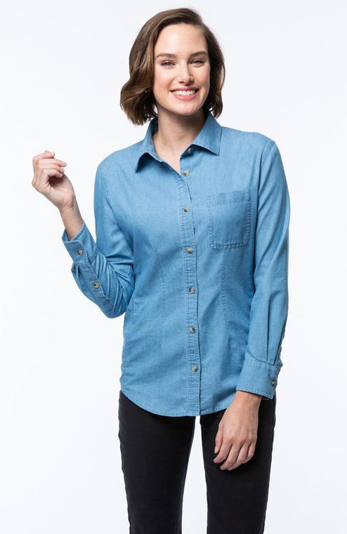 Tyler Boe Chambray Shirt