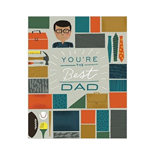 You're the Best Dad Book