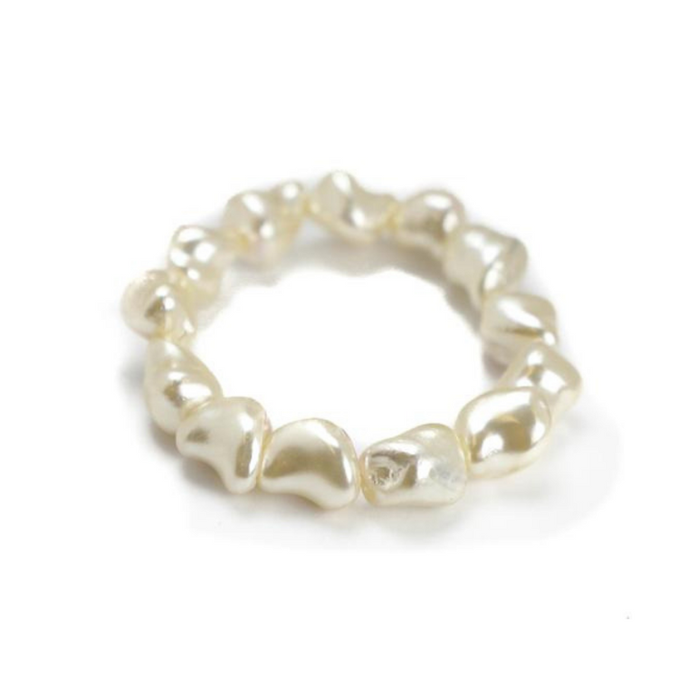 Hazen & Co. Minnie Bracelet White Pearl