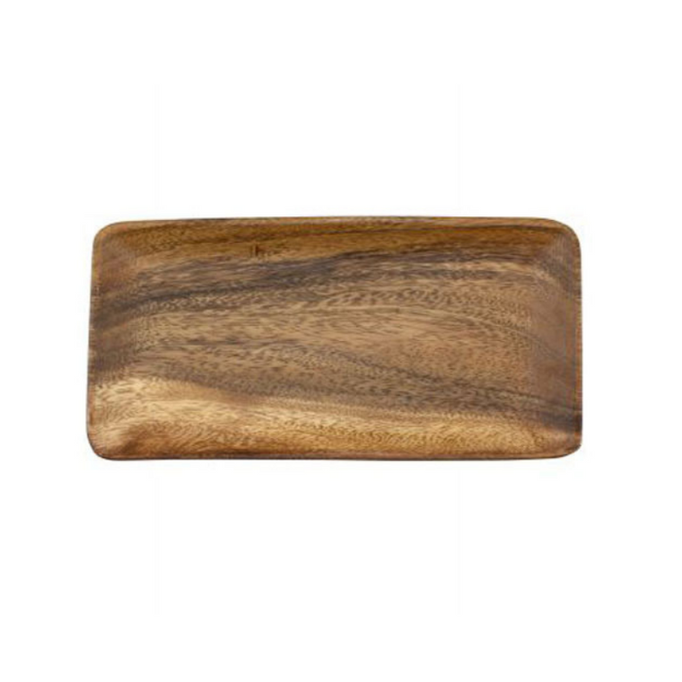 Acacia Wood Rectangle Plate