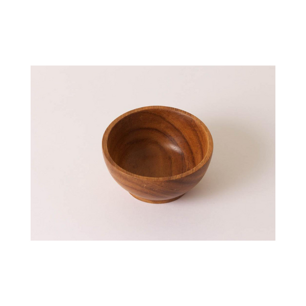Acacia Wood Small Bowl