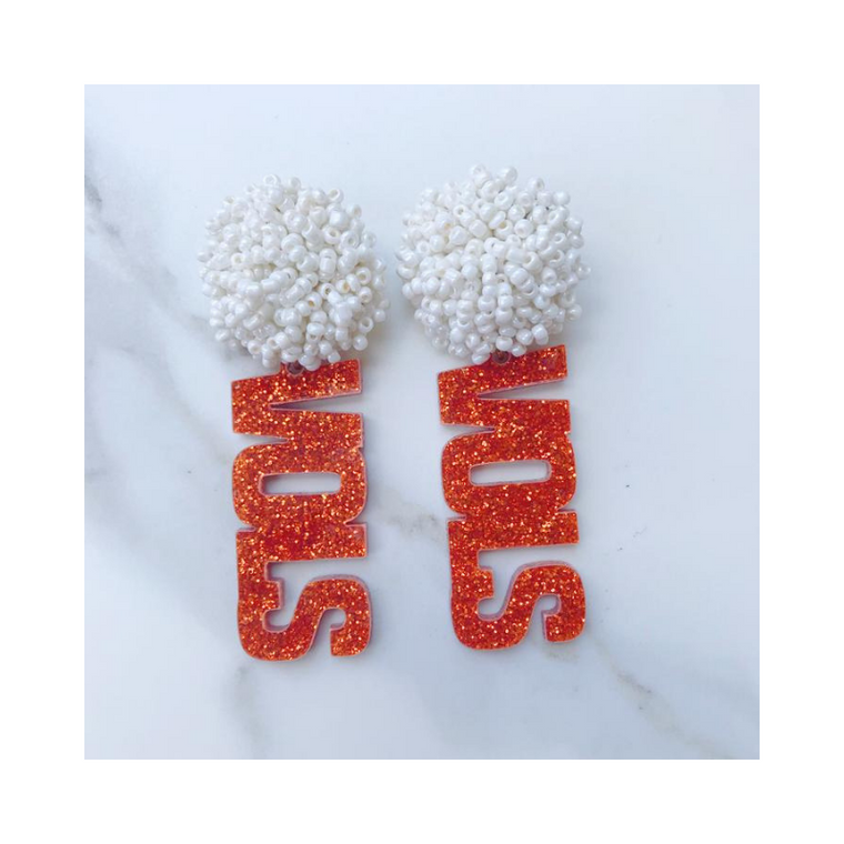 Vols Acrylic Earrings