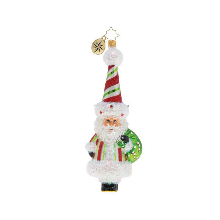 Radko Candy Cane Surprise Ornament