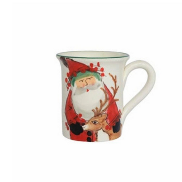 Vietri Old St. Nick Mug