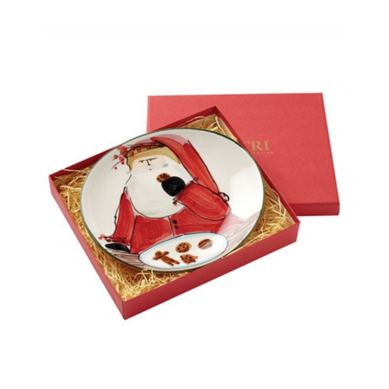 Veitri Old St. Nick Cookie Plate