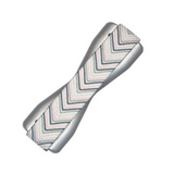 Gray Chevron Phone Handle