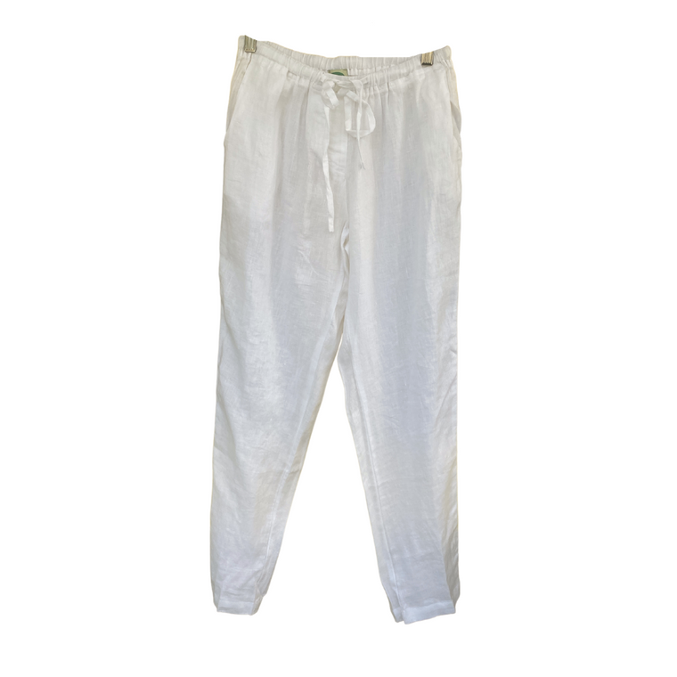 White Cotton Pant