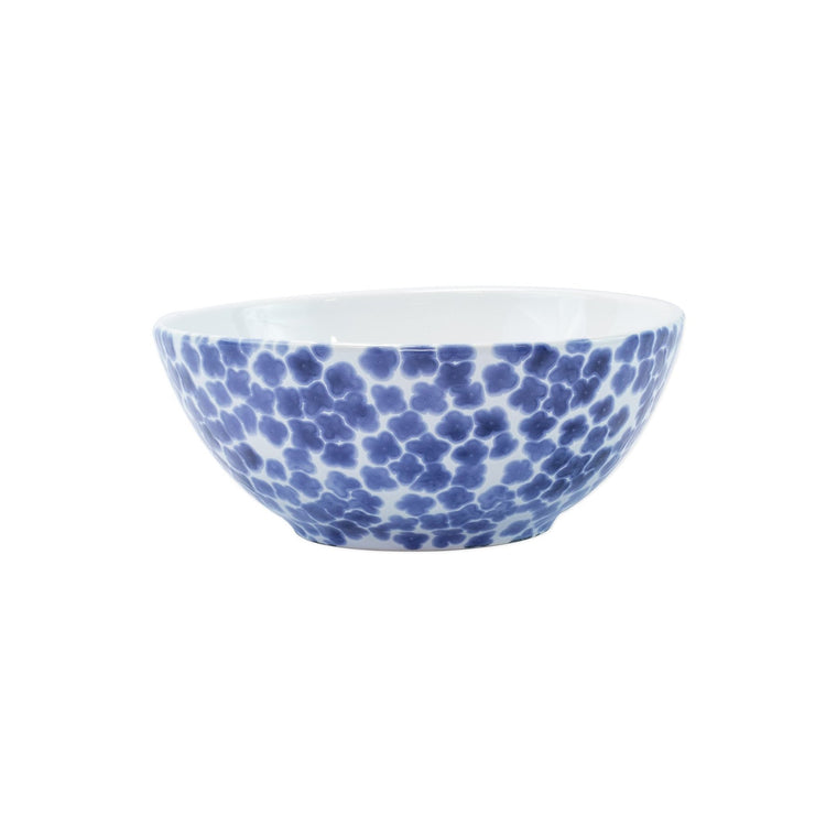 Vietri Santorini Flower Small Serving Bowl