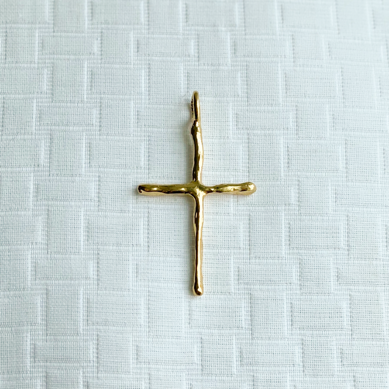 Janet Gregg Wickham Thin Cross Pendant