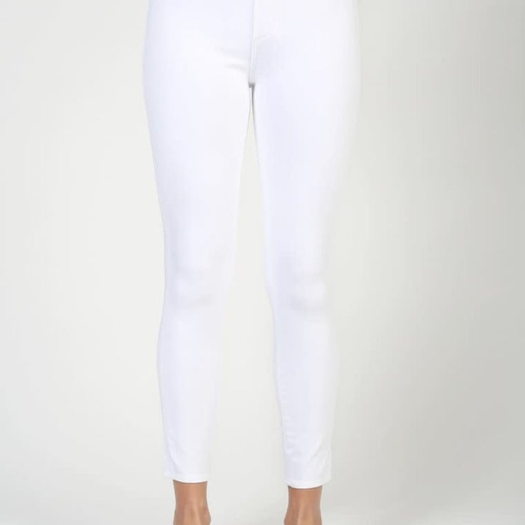 Heather High Crop Jean Skinny