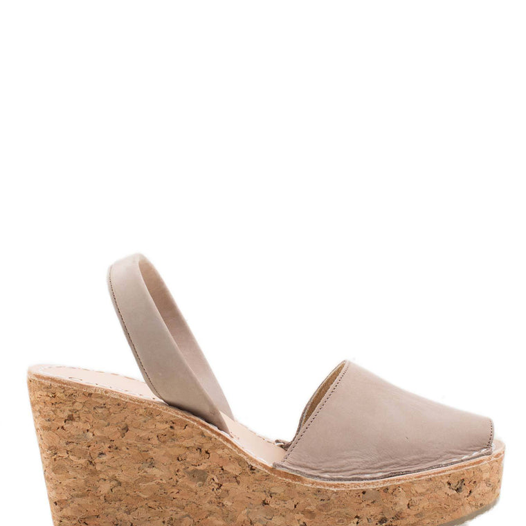 Cork Platform Wedge