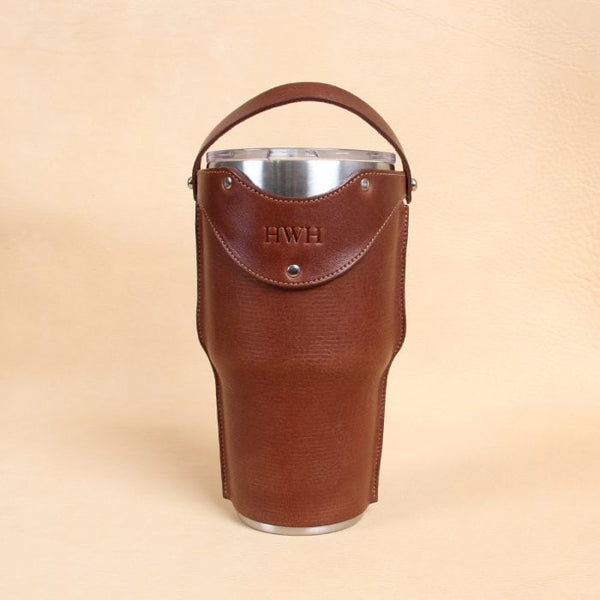 Leather Tumbler Sleeve