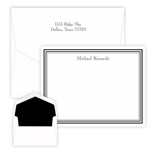 Colonial Raised Ink Card