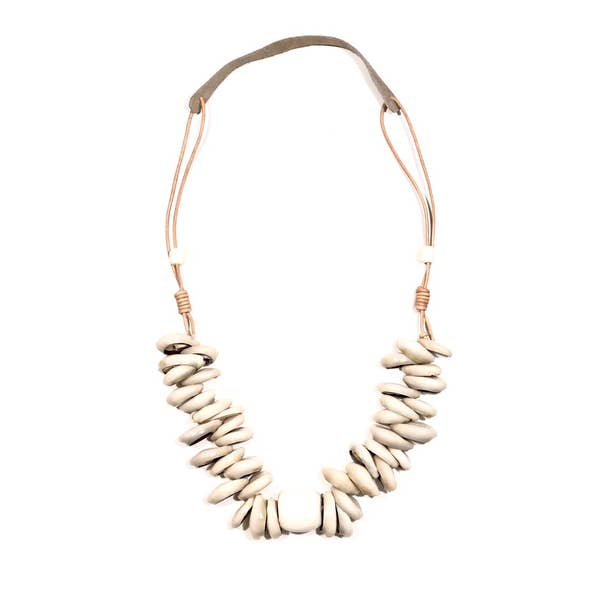 Cord Classic Cowrie Necklace Set
