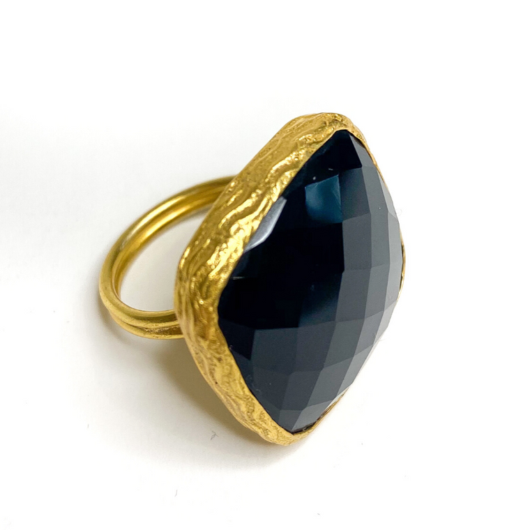 Elyssa Bass Black Onyx Ring