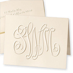 Henley Grand Monogram Note