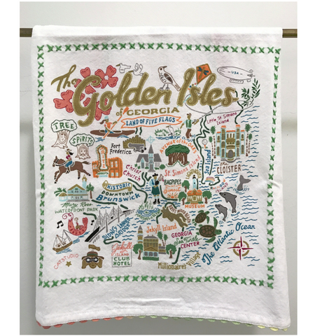 Catstudio Golden Isles Towel