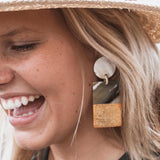 Gold Dipped Cabana Earring