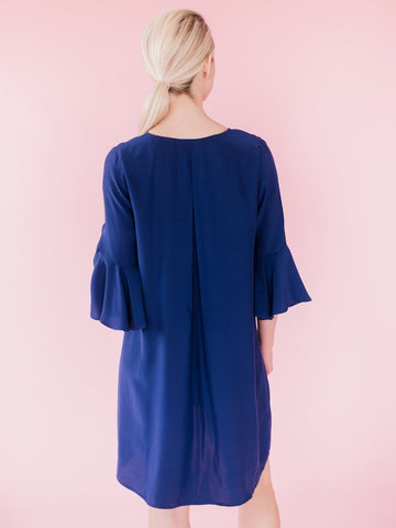 LaRoque Navy Park Dress