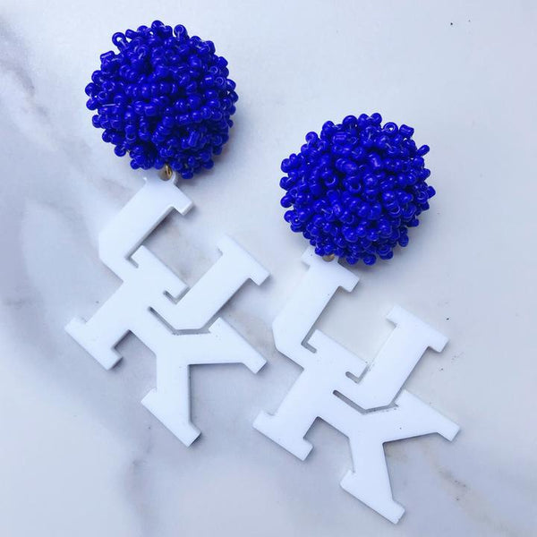 Kentucky Acrylic Earrings
