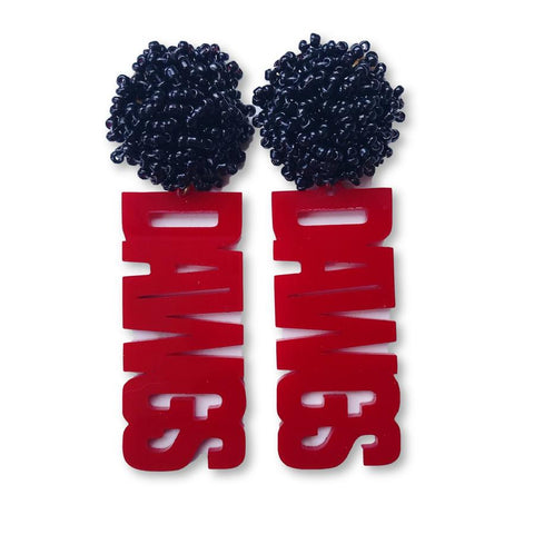Dawg Earrings