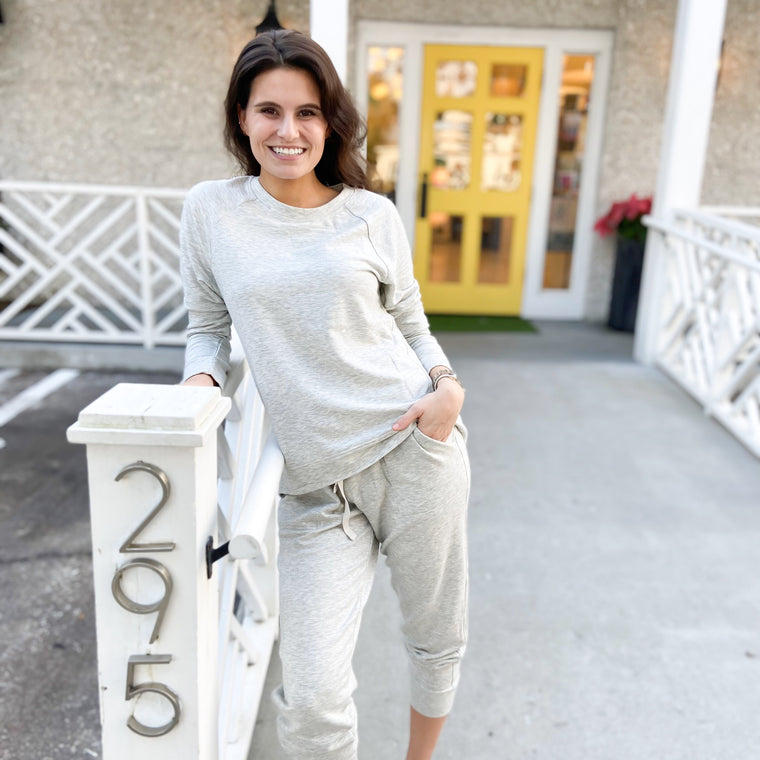 Cozy Grey Fleece Jogger