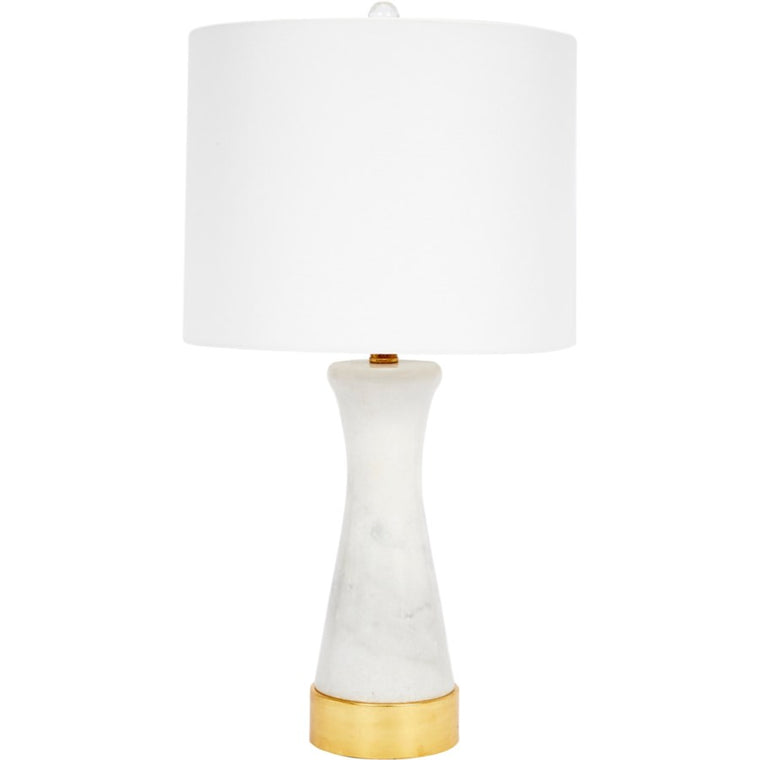 White Marble Fay Lamp