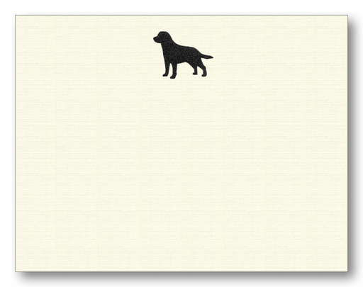 Maison de Papier Black Lab Flat Cards & Envelopes