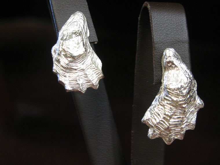 Mark Lexton Oyster Shell Earrings