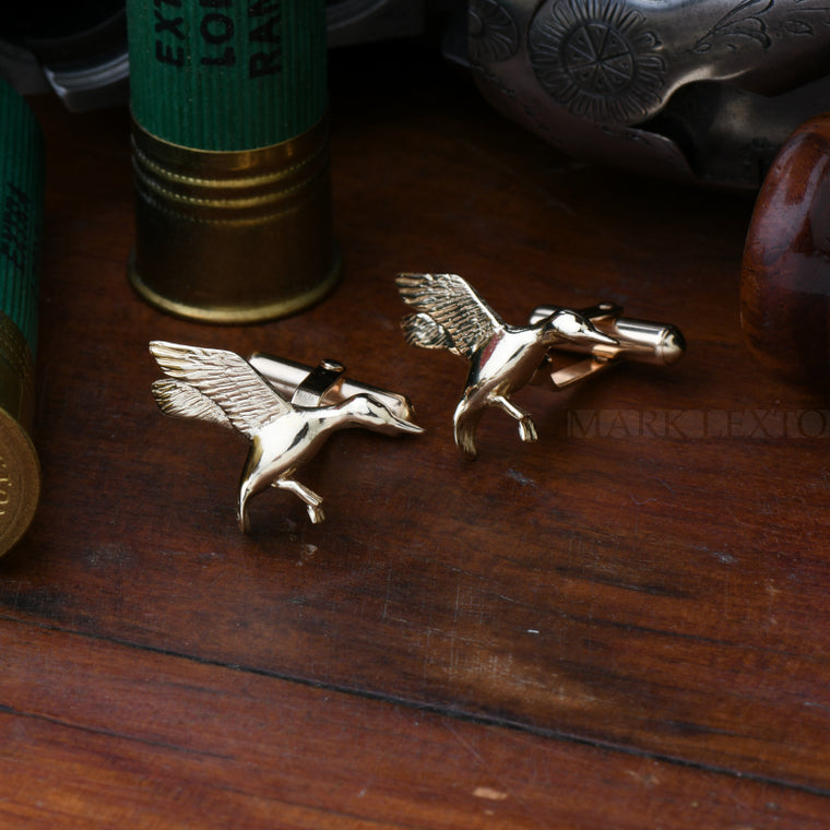 Mark Lexton SEWE Duck Cufflinks