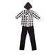 Kid Boys Hooded Shirt with Pant