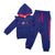 Baby Girls Full Hooded Jacket with Jogger Pant