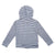 Baby Girls Hooded Jacket With Zipper