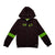 Kid Girls Hooded Jacket With Zipper