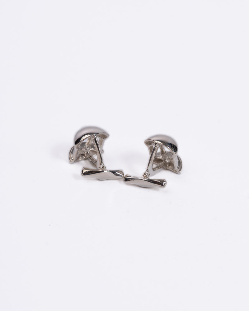 Old Well Sterling Silver Cufflinks