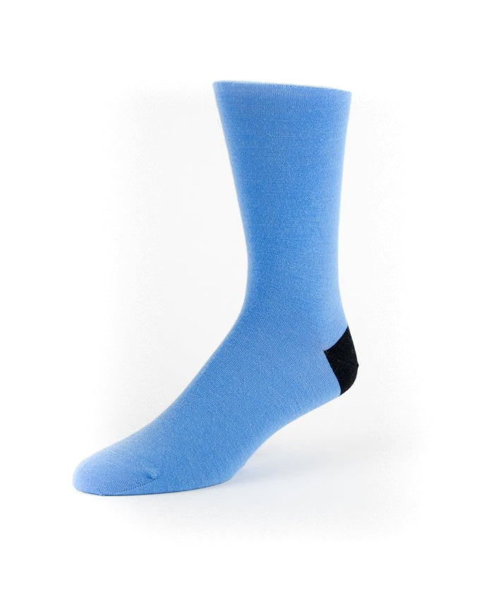 True Blues Heel Sock